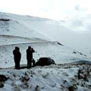Snowy Switchbacks On Pikes Peak Art Print