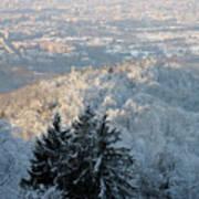 Snowy Turin Art Print