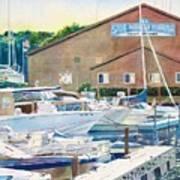 Snug Harbor II Art Print