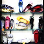 So Many Shoes... Print by Marilyn Hunt