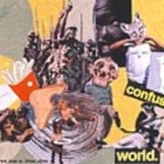 Soap Scene #13 Confused World Art Print
