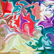 Soapy Car Shampoo Art Print