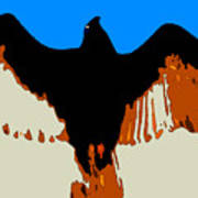 Soaring Raptor Art Print