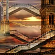 Soaring Towers Art Print