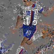 Soccer Art Print by Danielle Kasony