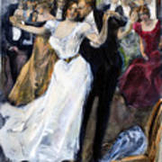 Society Ball, C1900 Art Print
