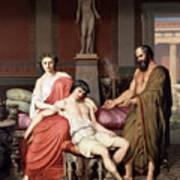 Socrates Chiding Alcibiades Art Print
