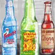 Soda Pops Art Print
