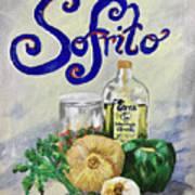 Sofrito Art Print