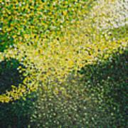 Soft Green Light  Art Print