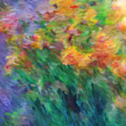 Soft Iris 2 Art Print