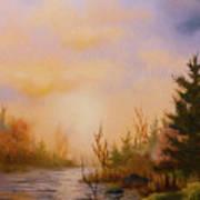 Soft Landscape Art Print