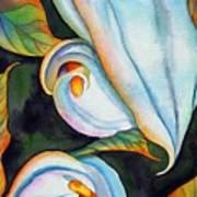 Soft Swirl Art Print