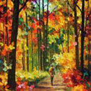 Soild Fall  Art Print