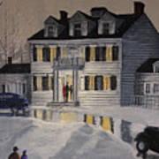 Soiree At Billings Estate Art Print