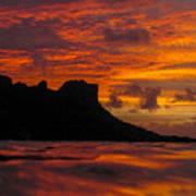 Sokeh's Rock Sunset Art Print