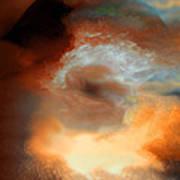 Solar Eruption Art Print