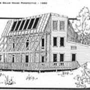 Solar House Art Print