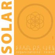 Solar Plexus Chakra Series Three Art Print