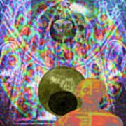 Solar Plexus Spirit Art Print by Joseph Mosley