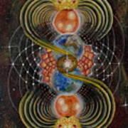 Solar Prayer Art Print