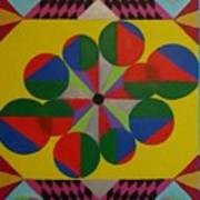 Solar Spin Art Print