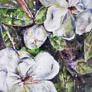 Sold Steal Magnolias Art Print
