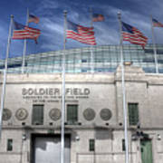 Soldier Field Art Print