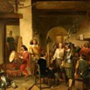 Soldiers In A Tavern During The Thirty Years Art Print