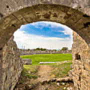 Solin Ancient Arena Old Ruins Art Print