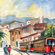 Soller In Majorca 01 Art Print