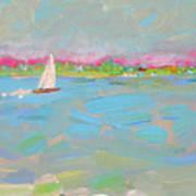Solo Sail Art Print