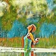 Solo Splash Art Print