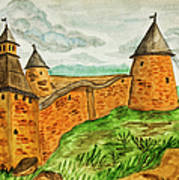 Solovetsky Monastery, Russia Art Print