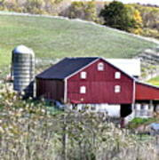 Somerset County Farm Art Print