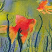 Something Fishy Going On Art Print
