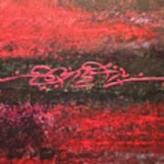 Something In Red Art Print