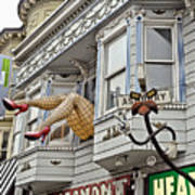 Something To Find Only The In The Haight Ashbury Art Print
