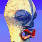 Songye Kifwebe Mask Art Print