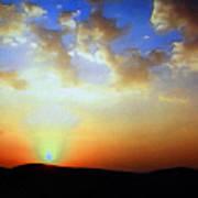 Sonnenuntergang 17052 Art Print