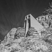 Sonoma Church - 2 Art Print