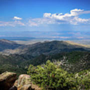 Sonoran Hillside Lookout Art Print