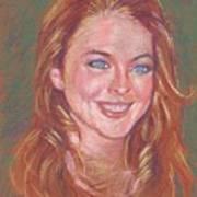 Sonrisa Sutil Art Print