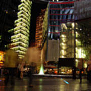 Sony Center Art Print