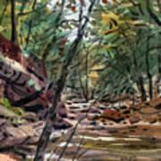 Sope Creek Three Art Print