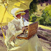 Sorolla: Painter, 1907 Art Print