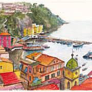 Sorrento Harbour Art Print