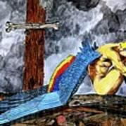 Sorrow's Angelic One Art Print