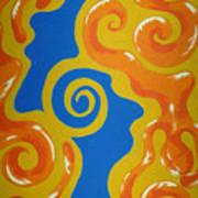 Soul Figures 5 Art Print