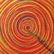 Soul Point - Rangrezaa Art Print